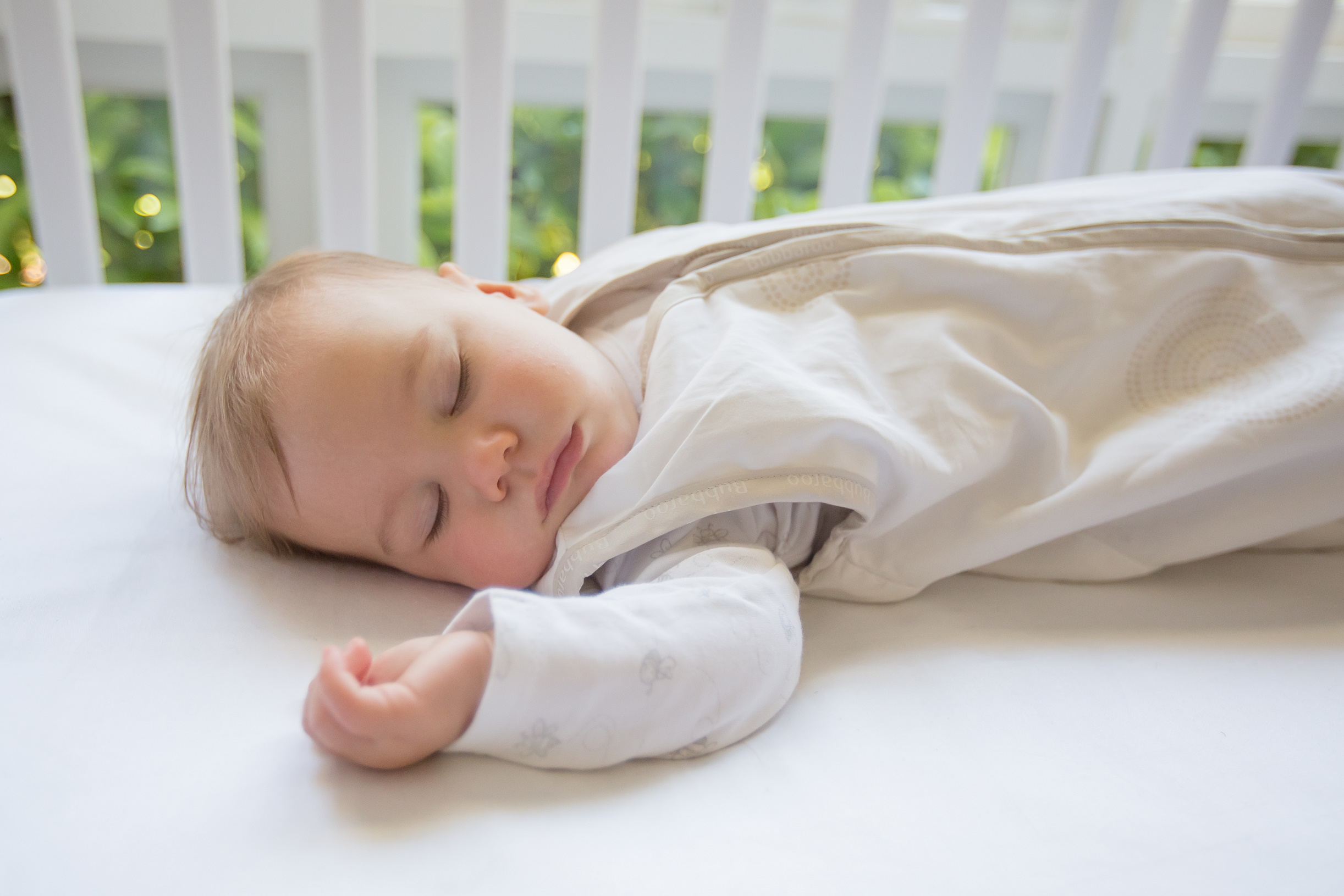 Following Red Nose Guidelines - safe sleep in a Bubbaroo Joey Swag Baby Sleeping Bag