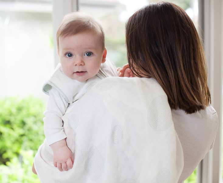 Hold baby up after feeding to reduce baby reflux.
