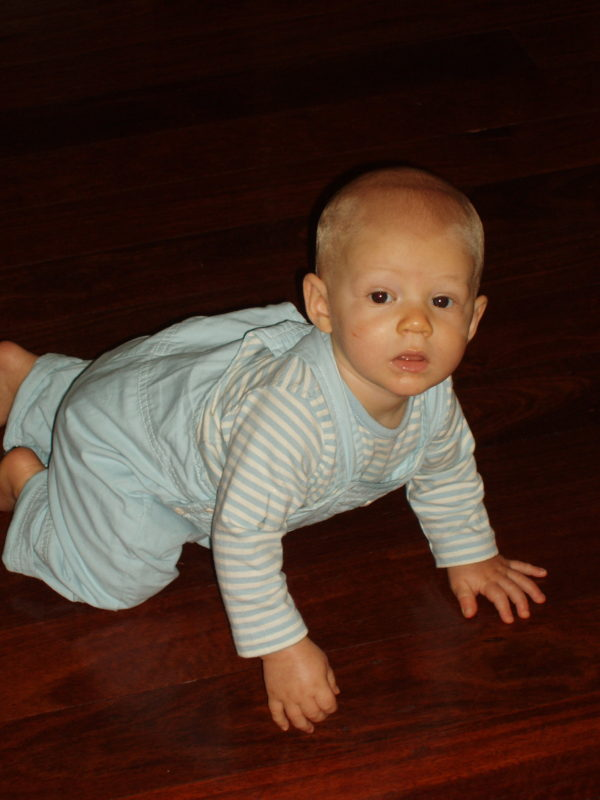 Jacob crawling