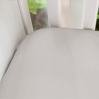 Fitted Cot Sheet Mocha