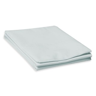 Fitted Cot Sheet Blue