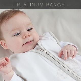 Platinum Joey Swag Baby Sleeping Bag Mocha Dot