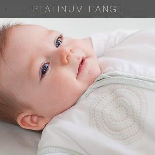 Platinum Joey Swag Baby Sleeping Bag Teal Dot