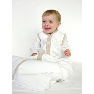 Joey Swag Baby Sleeping Bag White 0-6 months BUNDLE