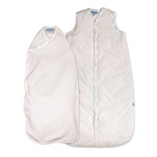 Delicate Pink - Joey Pouch Swaddle Wrap and 1.0TOG Joey Swag baby sleeping bag