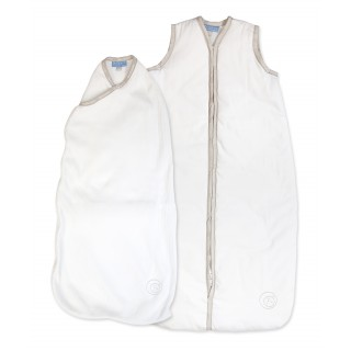White with Stone Binding Newborn Pack